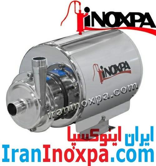 ESTAMPINOX EFI پمپ استیل سانتریفیوژی بهداشتی دارای پوشش موتور اینوکسپا