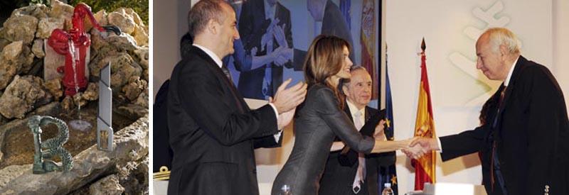جایزه ی پرنس فلیپ دریافت شده توسط شرکت اینوکسپا inoxpa